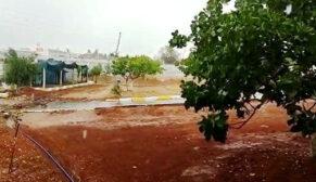 Şanlıurfa'da sağanak yağış yaşamı olumsuz etkiledi