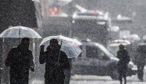 Beş il için yağış uyarısı