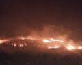 Tarihi turistik bölgede yangın