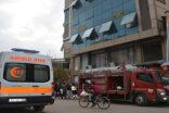 Şanlıurfa'da iş merkezinde yangın paniği