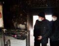 Ev yangını: 6 yaralı