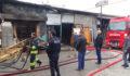 Konya'da yangın 2 iş yeri ve 1 depo zarar gördü