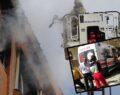 Sitede korkutan yangın