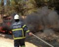 Şanlıurfa'da orman yangını büyümeden kontrol altına alında