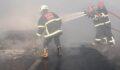 Şanlıurfa'da otomobil yanarak kül oldu
