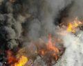 Harran Üniversitesinde yangın