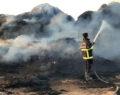 Şanlıurfa ilçesinde tır yangını