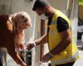 Haliliye belediyesi sıcak yemek dağıtımını sürdürüyor