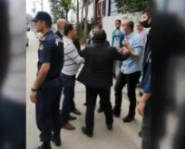 Kaçak bina yıkımında zabıta memuruna saldırı