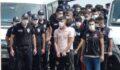 Uyuşturucu operasyonunda gözaltına alınan 21 zanlı adliyede