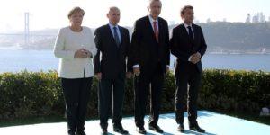 Suriye konulu dörtlü zirve başladı